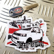VANARCHY IN THE UK, T5 sticker from oilcan stickers & decals vw transporter
