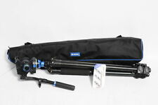 Benro A2573FS6 S6 Video Head and AL Flip Lock Legs Kit with Case #563