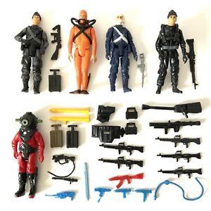 Vintage 1980's Hasbro GI Joe Action Force Figure & Accessories Job Lot