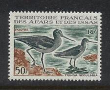 Afars and Issas Scott 312, 1967 50fr Birds, Mint Very Fine, Never-Hinged