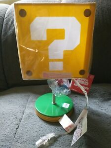 """Nintendo: Super Mario - 14"""" inch Question Block Lamp by Paladone (Brand New)"""