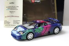 """1:18 Bburago Bugatti eb110 """"DREAMLAND"""" Aérographe New chez Premium-modelcars"""