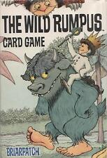 Where the Wild Things Are The Wild Rumpus Card Game Maurice Sendak - COMPLETE