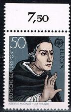 Germany Famous Catholic Saint Albertus Magnus stamp 1980 MNH