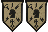 2 Pack U.S. Army 505th Military Intelligence Brigade OCP Hook Military Patches