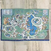 Vintage 2008 Sea World Adventure Park Orlando Florida Map Guide Flyer June