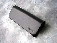 Zara Man black PU leather soft velvet inside eyeglasses case 2015 magnetic lock