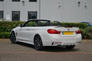 Carbon BMW F33 Trunk Deck Lip Spoiler P Type 4-Series Convertible 435i  2014+