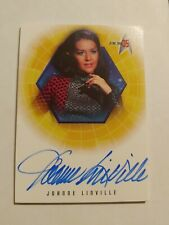 2001 Star Trek Tos 35th Anniversary A1 Joanne Linville Autograph card 14.44 Sale