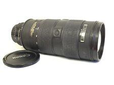 Nikon NIKKOR 80-200mm f/2.8 AF-S D SWM ED Zoom Lens, no squeak!