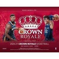 2020-21 Panini Crown Royale Basketball FACTORY SEALED *16-BOX* Case NEW!!
