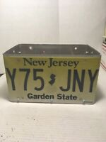 New Jersey License Plate Flower Box Brand New
