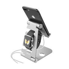 JETech 2 en 1 Universel Téléphone Portable Support montre Apple Stand Pliable Support mu...