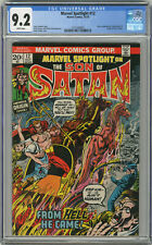 1973 Marvel Spotlight 12 CGC 9.2 White Pages Son of Satan