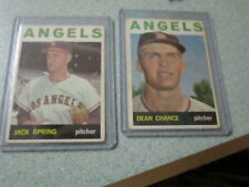 DEAN CHANCE/JACK SPRING TOPPS 1964 TRADING CARDS