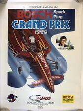 "2000 Bosch Grand Prix Nazareth Speedway Formula 1 Racing Poster - 24"" x 32"" - F1"