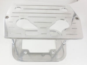 Billet Chrome Optima Battery Tray Ball Milled Chevy Ford Mopar Fit 34/78  Group
