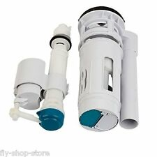 Flyshop Connected Toilet Fitting Water Tank Drain Fill Valve Dual Flush Kit 22cm