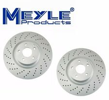 NEW Mercedes W219 W211 R230 CLS55 AMG E55 AMG SET OF 2 Front Disc Brake Rotors