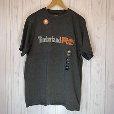 Mens Timberland Pro T-shirt Size Medium Gray NWT