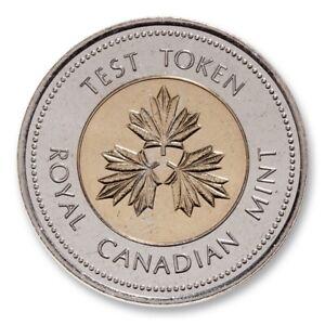 1996 Canada $2 Test Token - Bimetallic