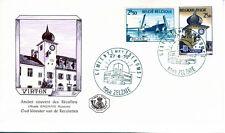 Belgien 1593-94 FDC, 700 Jahre Viton, 200 Jahre Zelzate, ESST-ZELZATE