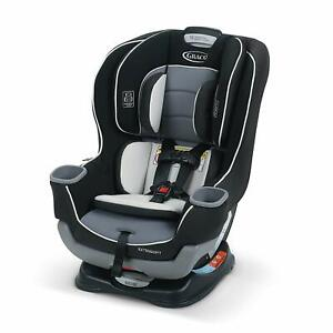 Brand New Graco Extend2Fit Convertible Car Seat - Gotham- Free shipping