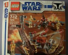 Brand New Lego Star Wars 7670 Hailfire Droid & Spider Droid