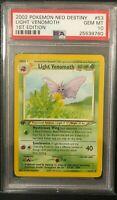 2002 Pokemon Neo Destiny 1st Edition Light Venomoth PSA 10 GEM MINT POP 15