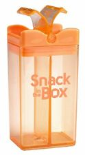 SNACK IN THE BOX | KID'S SNACK CONTAINER | LUNCH BOX | RE-USABLE SNACK BOX | NEW