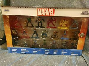 Jada Toys Nano Metal figs Marvel Classic Comic Diecast Figures 20 Pack Wave 3