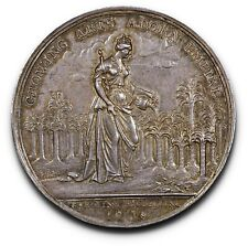 Attractively Toned Betts-169 Jernegan's Cistern Medal Silver 38mm