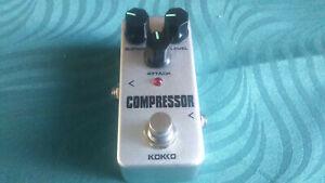 Kokko Compressor Effect Pedal -->Superb budget compressor<--