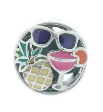 Authentic PANDORA Summer Fun Charm, Mixed Enamel 792118ENMX