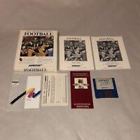UNTESTED Commodore Amiga Game GFL Championship Football COMPLETE CIB