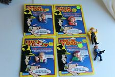 [4] Dick Tracy Clip-On Magnets NIB Factory Sealed 1990 Playmates w/bonus Figures