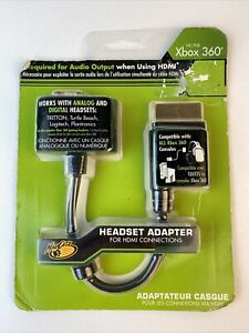 New! Xbox 360 Headset Audio Adapter For HDMI Connections : Mad Catz {2921}