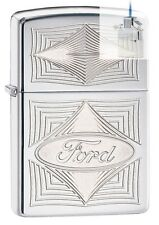 Zippo 28625 ford logo Lighter & Z-PLUS INSERT BUNDLE