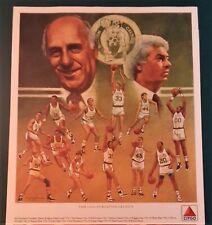 1988- Boston Celtics Basketball Posters - Citgo - Lot of 13 - 7 Original -6 Dups