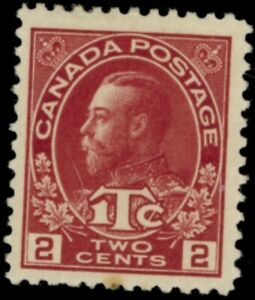 Canada  Stamps #mr3 mlh carmine 2 cent VF