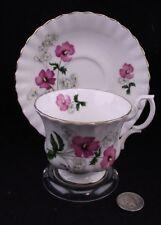 FLORAL ROYAL ALBERT BONE CHINA  CABINET TEA CUP AND SAUCER