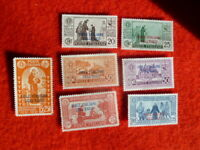ITALIAN  COL. STATE STAMP DELL'EGEO  63/9  SET OF 7 MH