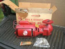 Bell Amp Gossett Series 100 Booster Pump Complete Cast Iron Circulator