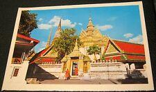 Thailand Bangkok View of Wat Po - unused