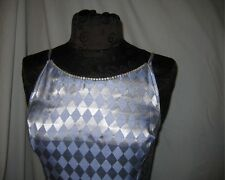 Jessica McClintock Gunne Sax Diamond Silver Gray Ladies Gown Size 5/6