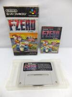 """ F-ZERO "" SFC SNES SUPER FAMICOM BOXED JAPAN"