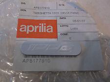 Genuine New Aprilia Silver 1000 Decal Badge, RSV, Tuono