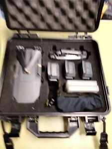 Dji Mavic Pro Drone With 4 Batteries, Remote, Extra Propellers, Lenses And Case