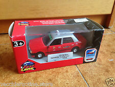 "TOYOTA CROWN TAXI HONG KONG 1998 1/32 TOYS ""R"" US TOYSRUS retrocarica PULL BACK"