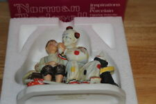 """Norman Rockwell """"The Runaway"""" by Gorham Figurine made in Japan with original box"""